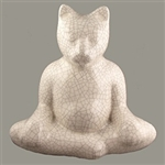 Buddha Cat Statue - Medium