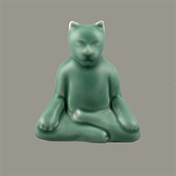 Buddha Cat Statue - Small