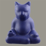 Buddha Cat Incense Holder
