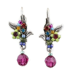 Firefly Wedding Flower Earring
