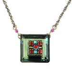 Firefly La Dolce Vida Square Necklace