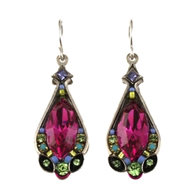 Firefly Earrings - Lg Marquis Crystal 5 colors