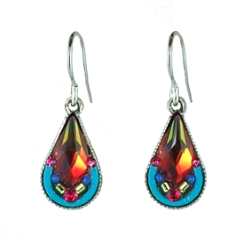 Firefly Lily Drop Earrings in Five Color Choices