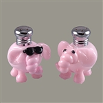Pink Elephants Salt & Pepper Shaker