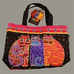 Feline Friends Small Tote Bag