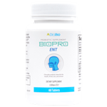 BioPro ENT provides a combination of clinically-studied probiotic strains shown to support the health of the teeth, gums, ears, and sinuses.