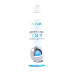 Liposomal Calm provides targeted amino acids and botanicals to promote calming brain activity and reduce feelings of unease.