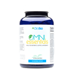 OmniEssentials is a multivitamin and mineral formula that incorporates whole-food organic vitamins with bioavailable micronutrients.