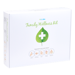 The Family Wellness Kit offers a combination of supplements, herbs, and homeopathics for a natural approach to family health and safety.