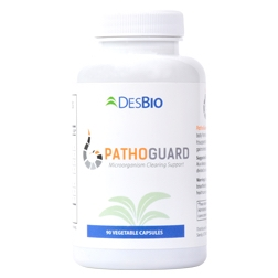 PathoGuard's targeted formula helps clear the body from bacteria, worms, parasites, and viruses. It supports the immune system and restores healthy gastrointestinal function.