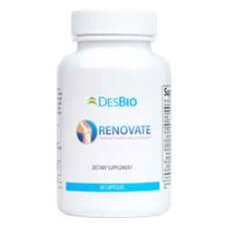 Renovate is the perfect choice for active adults who are starting to experience symptoms of joint discomfort and decreased joint function.