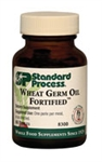 Wheat Germ Oil Fortified contains wheat germ oil and is strengthened with 50 IUs of natural vitamin E extracted from sunflower oil.