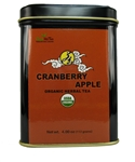 Cranberry Apple 4.00 OZ  Tea Tin