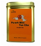 Puerh Tuo Cha   4.00 OZ Tea Tin