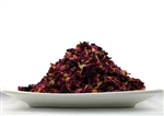 rosebuds and petals tea