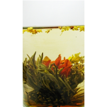 Lily Osmanthus Blooming Tea