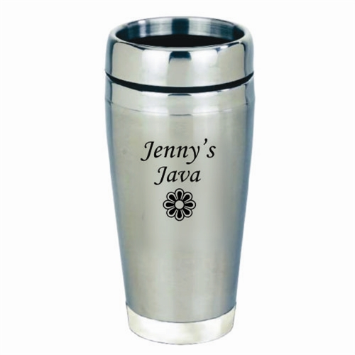 personalized stainless steel travel mug l fast delivery