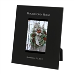 Engravable Black Metal Photo Frame 5X7