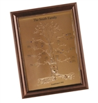 Engraved Family Tree