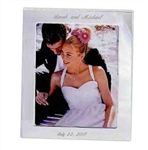 8X10 Personalized Silver Frame