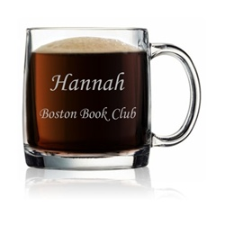 Personalized Clear Mug