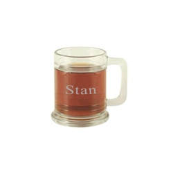 Maritime Mug Shooter - Engraved Glass