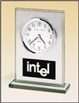 Glass and Aluminum Clock Award