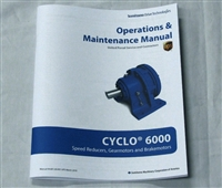 Cyclo 6000 Speed Reducers, Gearmotors and Brakemotors Operations & Maintenance Manual for UPS