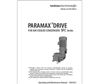 Paramax Drive for Cooling Towers SFC Series Manual