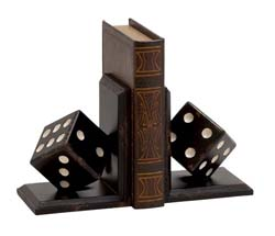 Kejimikujik Dark Dice Bookend Set