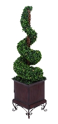 Hannah Artificial Led Boxwood (Small)