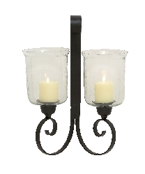 Norcross Double Candle Wall Sconce