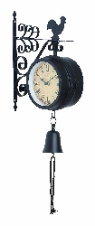 Gus Outdoor Double Sided Wall Clock