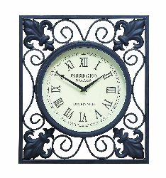 Casey Outdoor Double Sided Wall Clock