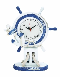 Aryanna Ship Wheel Wall Clock