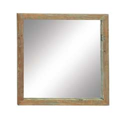 Bodea Wood Teak Wall Mirror