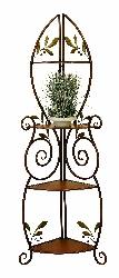 Addilyn Corner Etagere Rack