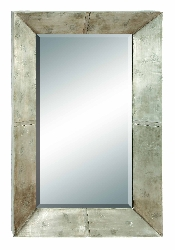 Camdyn Wood Wall Mirror 45x28