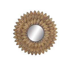 Nereus Kingly Metal Wall Mirror