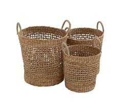 Credo Seagrass Basket Set/3