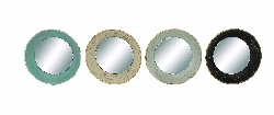 Anas Round Concaved Wall Mirror Set 4