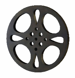 "Demetrius Wall Movie Reel 18"" Diameter"