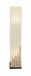 Philomena Capiz Tower Floor Lamp
