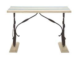 Rockholt Anchor Legs Nautical Console Table