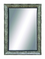 Zeynep Grey & Black Wall Mirror