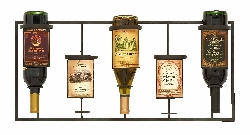 Adalie Wine Label Wine Rack