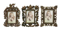 Bourbon Photo Frame Set/3