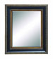 Shayna Beveled Geometric Wall Mirror