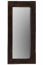 Femi Wood Mirror & Shelf Combination