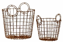 Tamantini French Market Basket Set/2